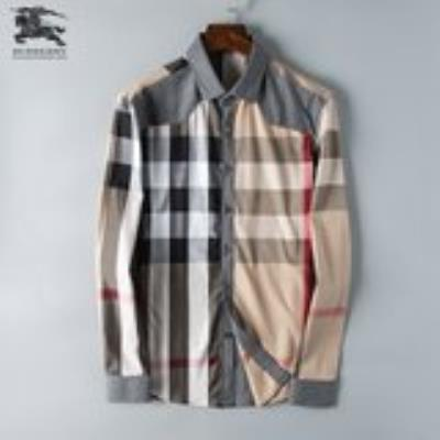 cheap quality Burberry Men Shirts sku 1717