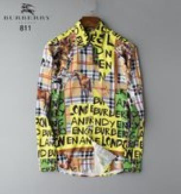 cheap quality Burberry Men Shirts sku 1726